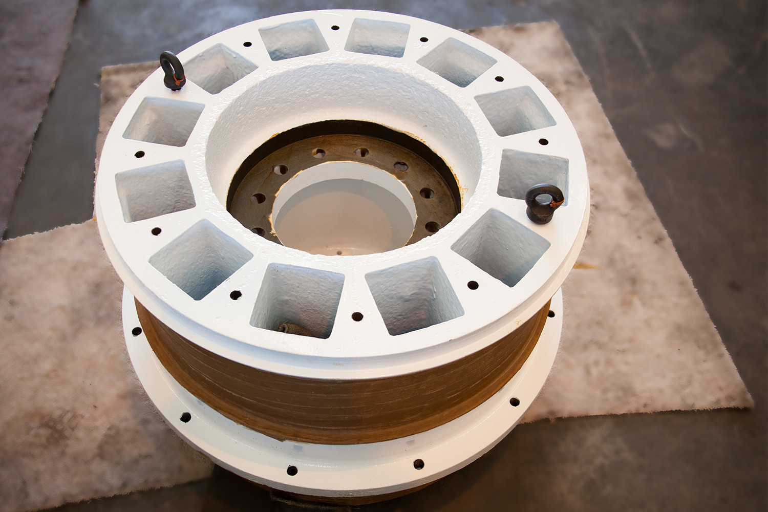 DISC FILTER TRUNNION